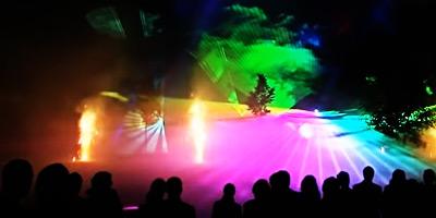 Laser light