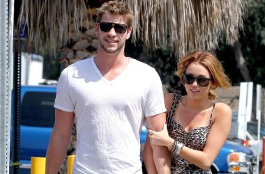 Miley Cyrus (23) and Liam Hemsworth
