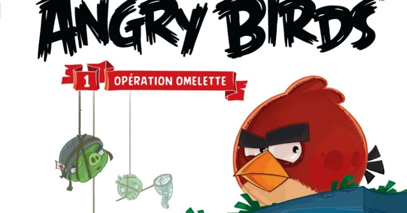 Angry Birds Operation Omelette